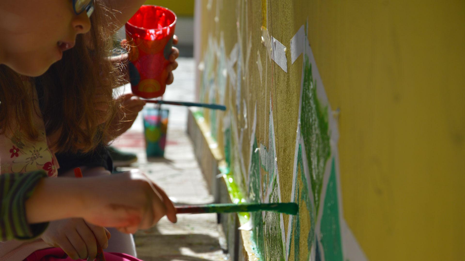τοιχογραφιες παιδιων