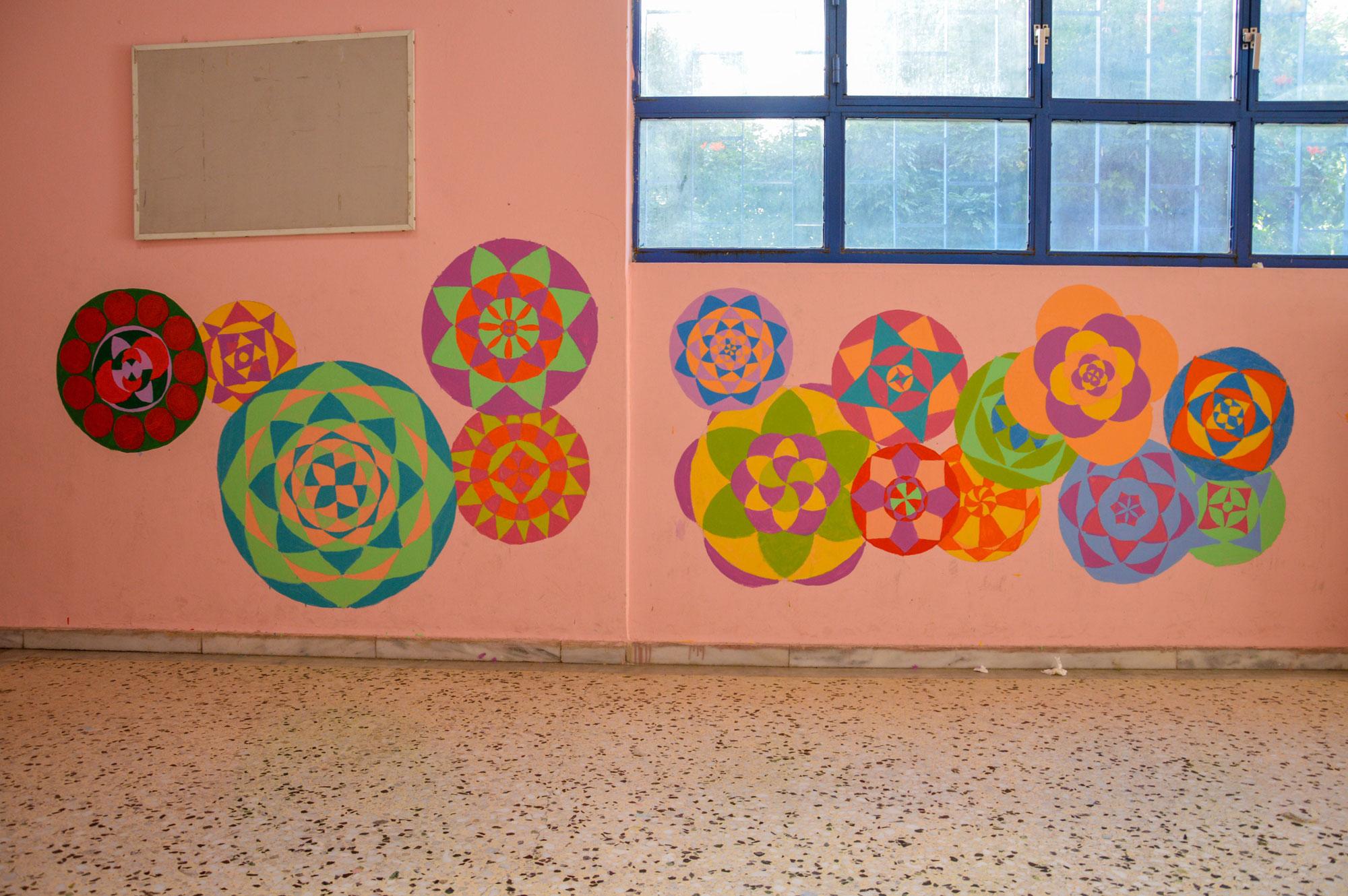τοιχοι σχολειου γραφιτι